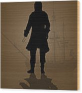 Hook Wood Print by Bob Orsillo