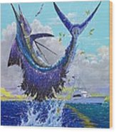 Hooked Up Off004 Wood Print by Carey Chen