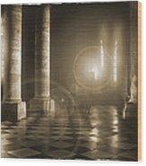 Hope Shinning Through Wood Print by Mike McGlothlen