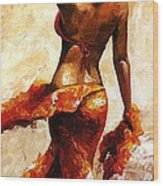 Hot Breeze  Wood Print by Emerico Imre Toth