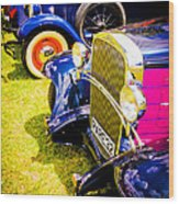Hot Rods Wood Print by Phil 'motography' Clark