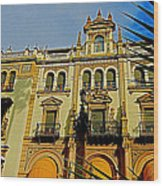 Hotel Alfonso Xiii - Seville Wood Print by Juergen Weiss