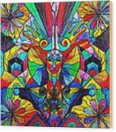 Human Self Awareness Wood Print by Teal Eye  Print Store