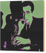Humphrey Bogart And The Maltese Falcon 20130323 Wood Print by Wingsdomain Art and Photography