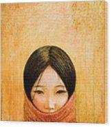 Image Of Tibet Wood Print by Shijun Munns