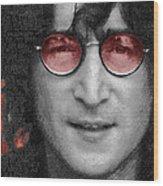 Imagine John Lennon  Wood Print by Tony Rubino