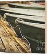 In A Line Wood Print by Todd Bielby