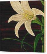 In Bloom Wood Print by Mark Moore
