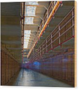 Inside Alcatraz Wood Print by James O Thompson