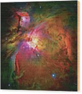 Into The Orion Nebula Wood Print by The  Vault - Jennifer Rondinelli Reilly