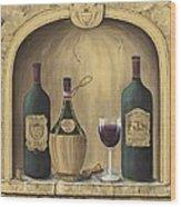 Italian Reds Wood Print by Marilyn Dunlap
