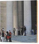 Jefferson Memorial - Washington Dc - 01132 Wood Print by DC Photographer