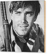 Jeffrey Hunter In The Searchers Wood Print by Silver Screen