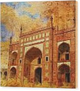 Jhangir Tomb Wood Print by Catf