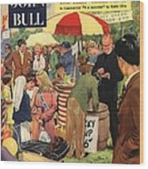 John Bull 1956 1950s Uk Schools Wood Print by The Advertising Archives
