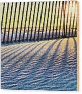 Jones Beach Wood Print by JC Findley