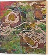 Journey Forth Wood Print by Allan P Friedlander
