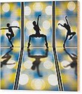 Joy Of Movement Wood Print by Bob Orsillo