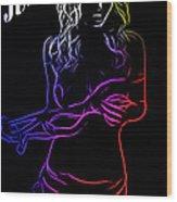 Just Sex Wood Print by Steve K