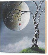 Key To My Imagination By Shawna Erback Wood Print by Shawna Erback