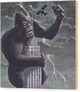 King Kong Plane Swatter Poster By Martin Davey