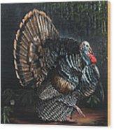 King Strut Wood Print by Rob Dreyer AFC