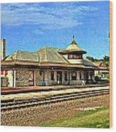 Kirkwood Station Wood Print by Marty Koch