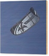 Kite Surfing 2 Wood Print by Heather L Wright