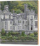 Kylemore Abbey Wood Print by Mike McGlothlen