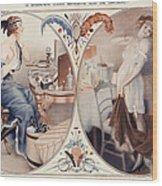 La Vie Parisienne 1922 1920s France Leo Wood Print by The Advertising Archives