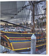 Lady Washington Wood Print by Heidi Smith