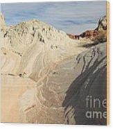 Landscape Swirls Wood Print by Adam Jewell