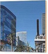 Las Vegas - Cosmopolitan Casino - 12121 Wood Print by DC Photographer