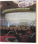 Las Vegas - Cosmopolitan Casino - 12123 Wood Print by DC Photographer