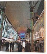 Las Vegas - Fremont Street Experience - 12126 Wood Print by DC Photographer