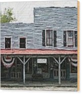 Latimore's Store - Perryville Ky Wood Print by Thia Stover