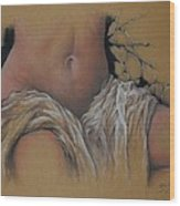 Le Voile De La Discorde Wood Print by Guillaume Bruno