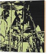 Led Zeppelin No.05 Wood Print by Caio Caldas