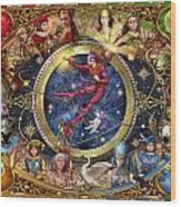Legacy Of The Divine Tarot Wood Print by Ciro Marchetti