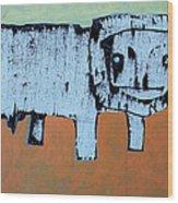 LEO Wood Print by Mark M  Mellon