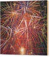 Let Us Celebrate Wood Print by Garry Gay