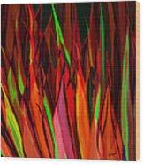 Let's Dance Wood Print by Brenda Bryant