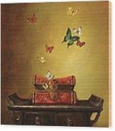 Liberation - Tibetan Dream Wood Print by Lori  McNee