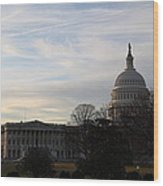 Library Of Congress - Washington Dc - 011325 Wood Print by DC Photographer