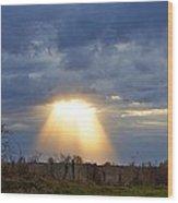 Light Of The Heavens Wood Print by Misty Dawn Seidel