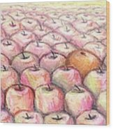 Like Apples And Oranges Wood Print by Shana Rowe Jackson
