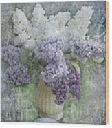 Lilac Wood Print by Jeff Burgess