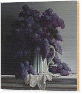 Lilacs Study No.2 2011 Wood Print by Larry Preston