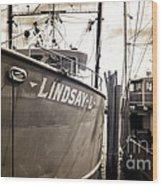 Lindsay L Wood Print by John Rizzuto