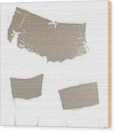 Lingerie Iv Wood Print by John Silver